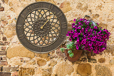 """Spiral 14"""" Indoor/Outdoor Wall Thermometer"""