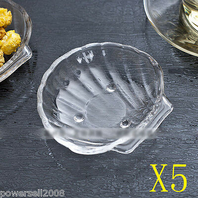5X Fashion Personalized Lead-Free Crystal Glass Plate Fruit Bowl Cake Plate NN