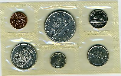 1965 Canada Silver Royal Canadian Mint Coin Set