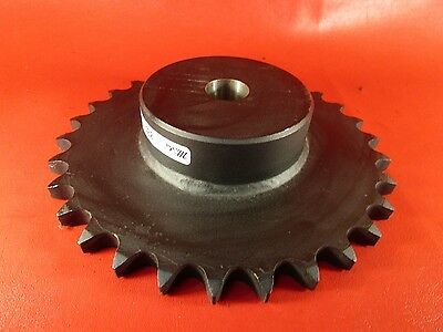 "Martin 80B30, Plain 1 1/4"" Bore Sprocket, Carbon Steel"