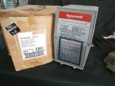 Honeywell, V4055D-1019, Fluid Gas Power Valve