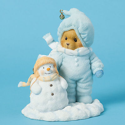 Cherished Teddies 'Our Friendship Will Never Melt' Bear in Snowsuit 4040465