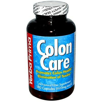 Colon Care - 180 Capsules Promotes Colon Health - Verba Prima