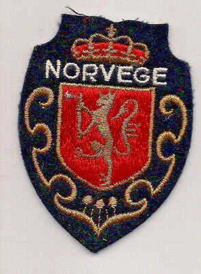 Country Of Norway Souvenir Patch