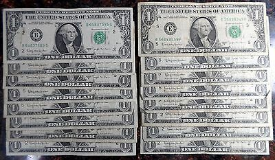 Very Nice Lot / Collection of 1963 B Joseph W. Barr Notes