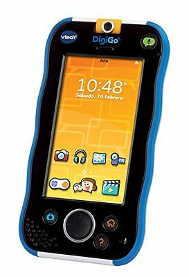 VTech - DigiGo, tablet educativo para niños, color azul (3480-168822) [vers
