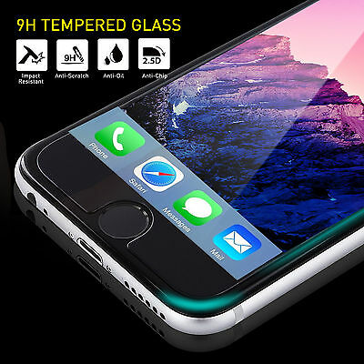 2 x Tempered Glass Screen Protector For Apple iPhone 6 Plus ,6s Plus