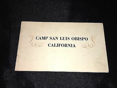 San Luis Obispo Ca. THE PACIFIC TELEPHONE AND TELEGRAPH COMPANY Booklet!
