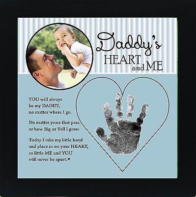 Baby Child Keepsake Handprint Frame with Poetry - Mommy Daddy Grandma or ... NEW