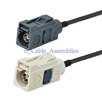 Radio antenna Extension cable Fakra B Jack to G female Pigtail cable RG174 30cm