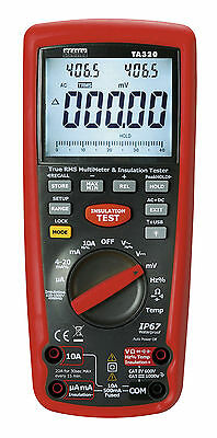 TA320 Sealey Digital Automotive Analyser/Insulation Tester - Hybrid Vehicles
