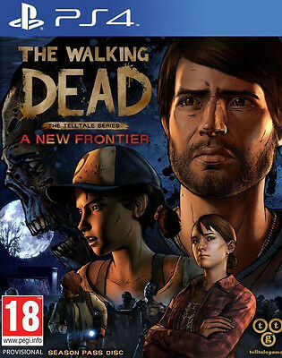 The Walking Dead A New Frontier PS4 Game Brand New In Stock From Brisbane