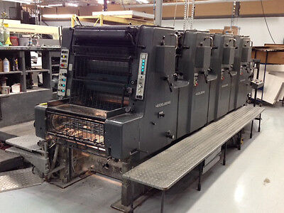 Heidelberg MOVP 4 color Printing Press