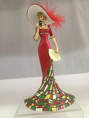 """The Hamilton Collection """"timelessly Refreshing"""" Coca Cola Figurine, 992-I"""