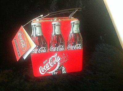 Coca Cola 6 Pack Lunch Pail, new with tag, No candy