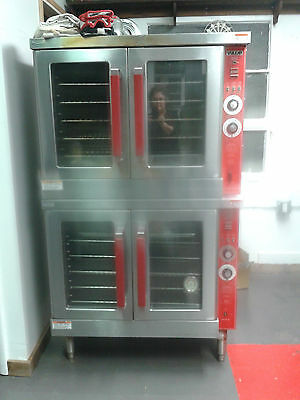 """""""Vulcan"""" Commercial Double Oven - Gas"""