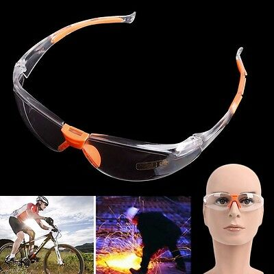 Eye Protection Anti Fog Clear Protective Safety Glasses For Lab Outdoor Work