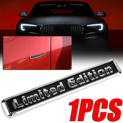"Universal Metal ""Limited Edition"" Car Auto Body Emblem Badge Sticker Decal"