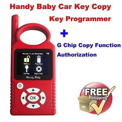 Handy Baby Car Copy Auto Programmer for 4D/46/48 Chips + G Chip Copy Authorize