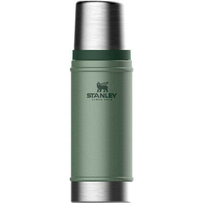 NEW STANLEY 473ml CLASSIC VACUUM BOTTLE Thermos Flask Stainless Steel