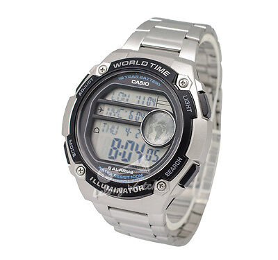 -Casio AE3000WD-1A Digital Watch Brand New & 100% Authentic