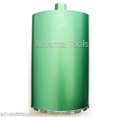 "8"" Wet Diamond Core Drill Bit for Concrete - Premium Green Series"