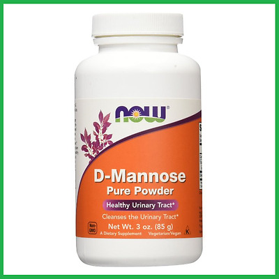 D-Mannose Powder 3oz. (85g) by NOW Foods - Healthy Urinary Tract UTI Swanson AUS