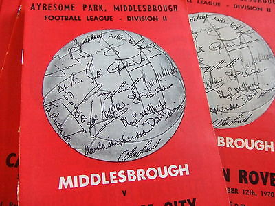 Middlesbrough Homes 1970-71