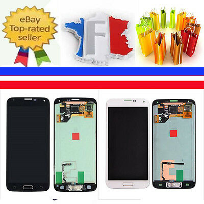 Pour Samsung Galaxy S5 I9600 G900F écran LCD Vitre Tactile Chassis + Outils