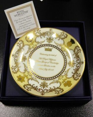 Royal Worcester Royal Baby Collection PRINCE GEORGE Commemorative