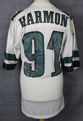 Harmon #91 Vintage Philadelphia Eagles Nfl Football Jersey Russell Athletic 44""