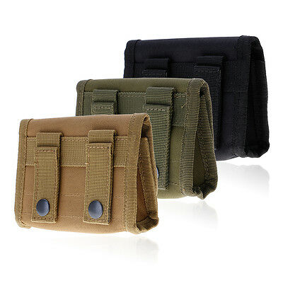 MOLLE Tactical Bag Shotgun Ammo Bag Holder Pouch Holster Case For 12 Gauge/20G