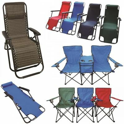 Garden Camping Folding Chair Festival Hiking Fishing Beach Indoor Outdoor Seat
