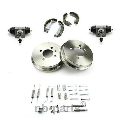BRAKE SHOES + ACCESSORIES + 2x WHEEL CYLINDER + 2x DRUM VW LUPO NO ABS