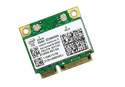 Genuine 572509-001 Hp 300Mbps 802.11A/g/n Pci Network Adapter For 2540P 622Anhmw