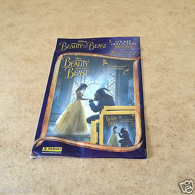 Beauty And The Beast Enchanted Sticker Starter Pack = 1 Album + 31 Stickers