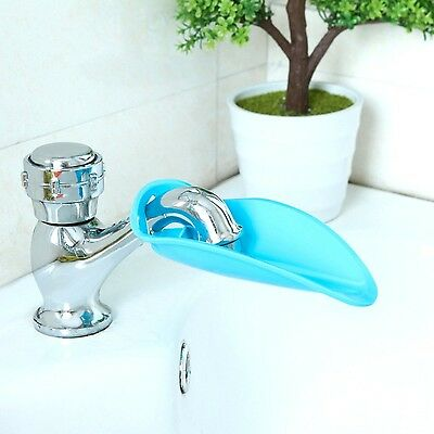Facuet Extender Bath Spout ExtenderBlue ColorPack Of 2