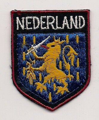 Country Of The Netherlands Souvenir Patch
