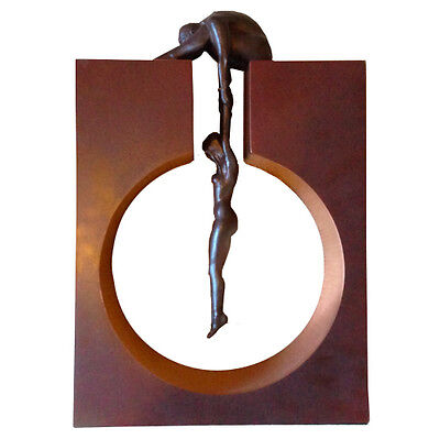 Lorenzo Quinn Limited Edition  'Gravity' Bronze Resin Sculpture - Edition 495