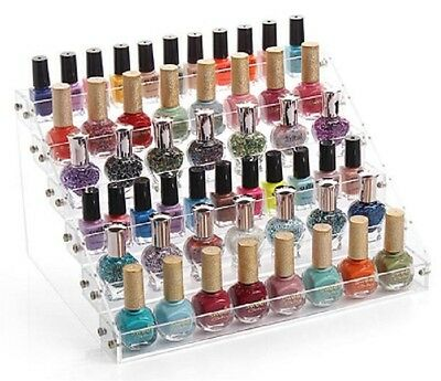 Beauty 6 Tier Nail Polish Cosmetic Lady Organizer Lipstick Display Stand Holder