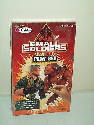1998 Small Soldiers Colorforms adventure set NEW OLD STOCK very Rare