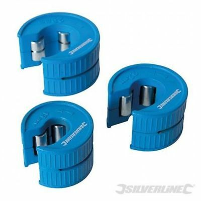 Quick Cut Pipe Cutter Set 3pce 15mm 22mm 28mm Copper Pipe Slice Plumbing