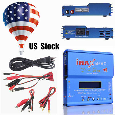 iMAX B6AC Digital RC Vehicle Charger Li-ion Battery Balancer Discharger + Plug