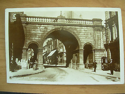 Vintage Postcard Ferryquay Gate - Londonderry Rp 1933