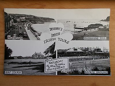 Vintage Postcard - Devenny's Conducted Irish Tours - Whitehead Attractions