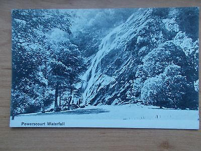 Vintage Postcard - Powerscourt Waterfall - Wicklow - Ireland