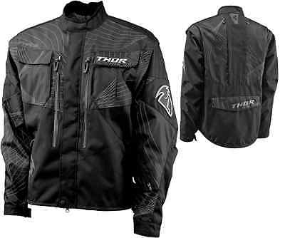 Giacca Jacket Enduro Cross Thor Phase Racing Nero Grigio Tg L