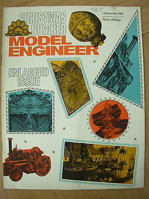 THE MODEL ENGINEER VINTAGE MAGAZINE DECEMBER 1st 1965 CHRISTMAS SPECIAL