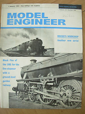 THE MODEL ENGINEER VINTAGE MAGAZINE JANUARY 1st 1965