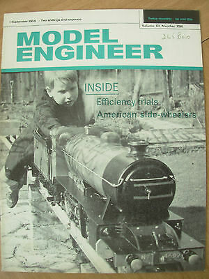 THE MODEL ENGINEER VINTAGE MAGAZINE SEPTEMBER 1st 1965